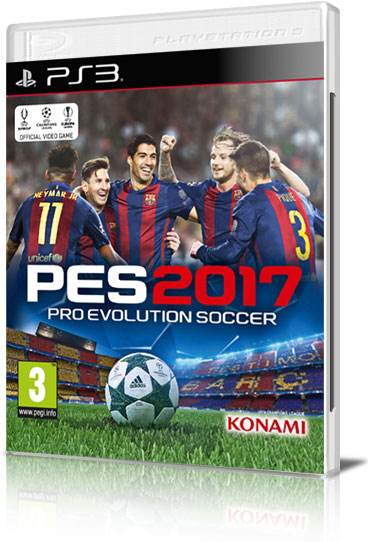 [PS3] Pro Evolution Soccer 2017 (2016) - FULL ITA