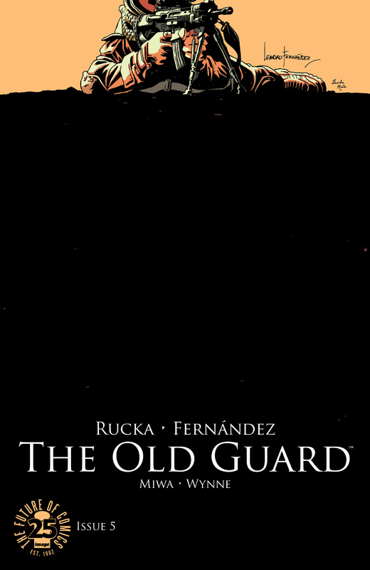 The Old Guard #1-5 (2017) Complete