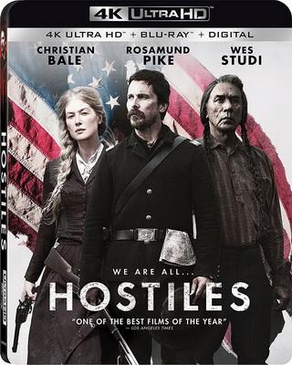 Hostiles - Ostili (2017) .mkv VU Blu-ray 2160p UHD HDR10 HEVC iTA/ENG DTS-HD 5.1 CYBER
