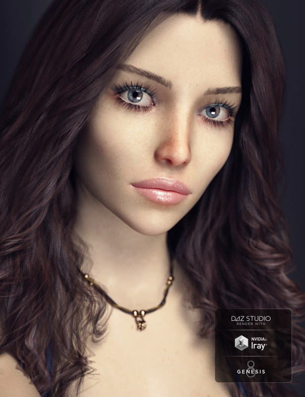 SC Callisto HD for Genesis 8 Female